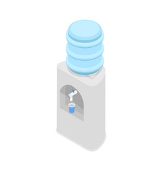 water cooler dispenser isometric 3d icon vector image vector image