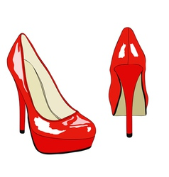 Shoes and fashion no 007 vector