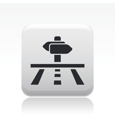 Direction icon vector