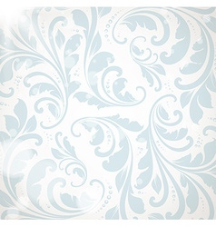 Pastel Floral Wallpaper vector image