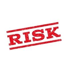 Risk watermark stamp vector