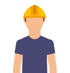 Electrical technician isolated icon design vector