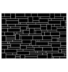 Brick wall block pattern vector image vector image