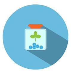Drug Bottle vector image