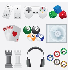 Games set vector image vector image