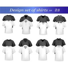 Black and white tshirt design vector