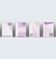 Geometric line pattern for poster design vector