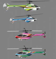helicopter toys vector image