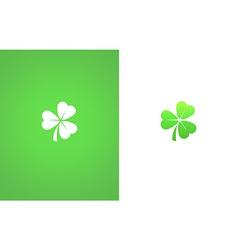 Shamrock clover leaf vector