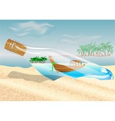 Thailand beach vector