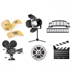 Film industry vector