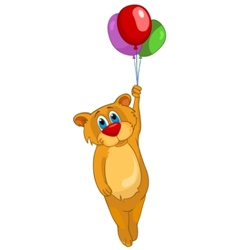 cartoon character bear vector image vector image