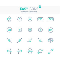 Easy icons 10e exchange vector