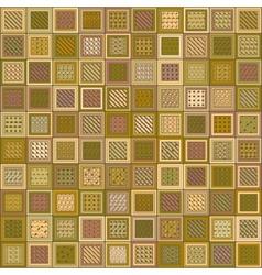 Textured Brick Pattern Mosaic vector image vector image