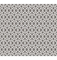 White forged seamless pattern on grey background vector
