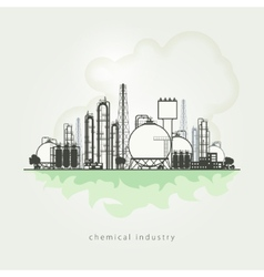 A chemical plant vector