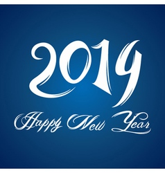 Creative new year2014 concept vector image