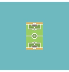 Soccer field icon EPS 10 vector image