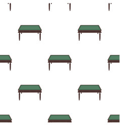 Wooden table icon in cartoon style isolated on vector