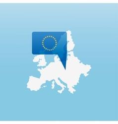 Europe icon vector image