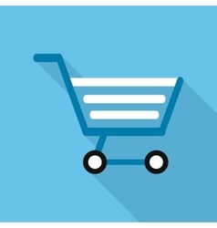 Shopping cart design commerce and store icon vector