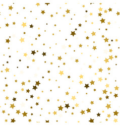 abstract white modern seamless pattern with gold vector image