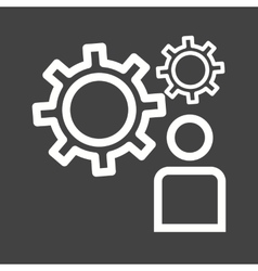 User Settings vector image vector image