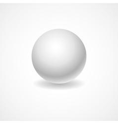 A white globe on a light background lighting for vector