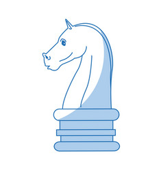 chess knight strategy business websites image vector image