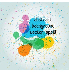 drops of paint vector image vector image