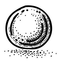 Cartoon image of globe icon sphere symbol vector