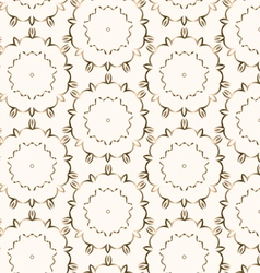 Gold seamless pattern vector