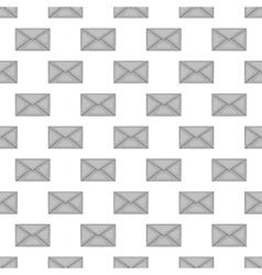 Letter seamless pattern vector