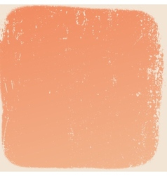Peach Border Texture vector image