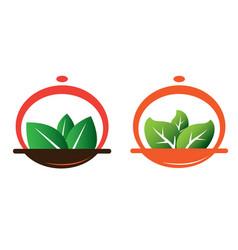 Green meal vector