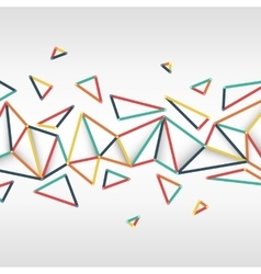 Abstract texture with triangles vector