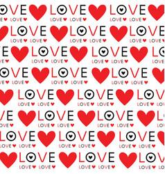 Background wallpaper love heart text design vector