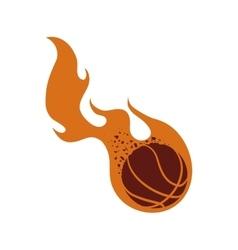 Ball icon basketball design graphic vector