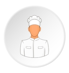 Cooker icon flat style vector image vector image