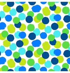 Ditsy polka dots vector