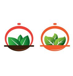Green meal vector