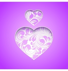 Happy spirit day heart vector image vector image