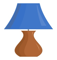 image of the lamp shade vector image