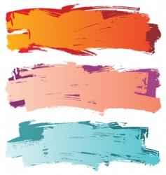 grange banners vector image