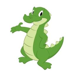Cartoon Croc vector image