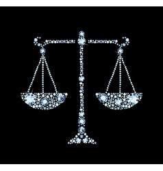 Diamond scales vector