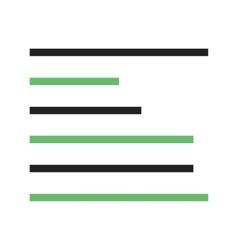 Left align vector