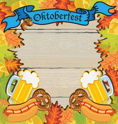 oktoberfest party vector image