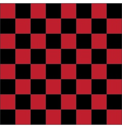 Red checkered board vector