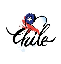 Logo chile vector